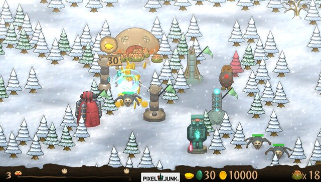 PixelJunk Monsters Ultimate HD on PS Vita