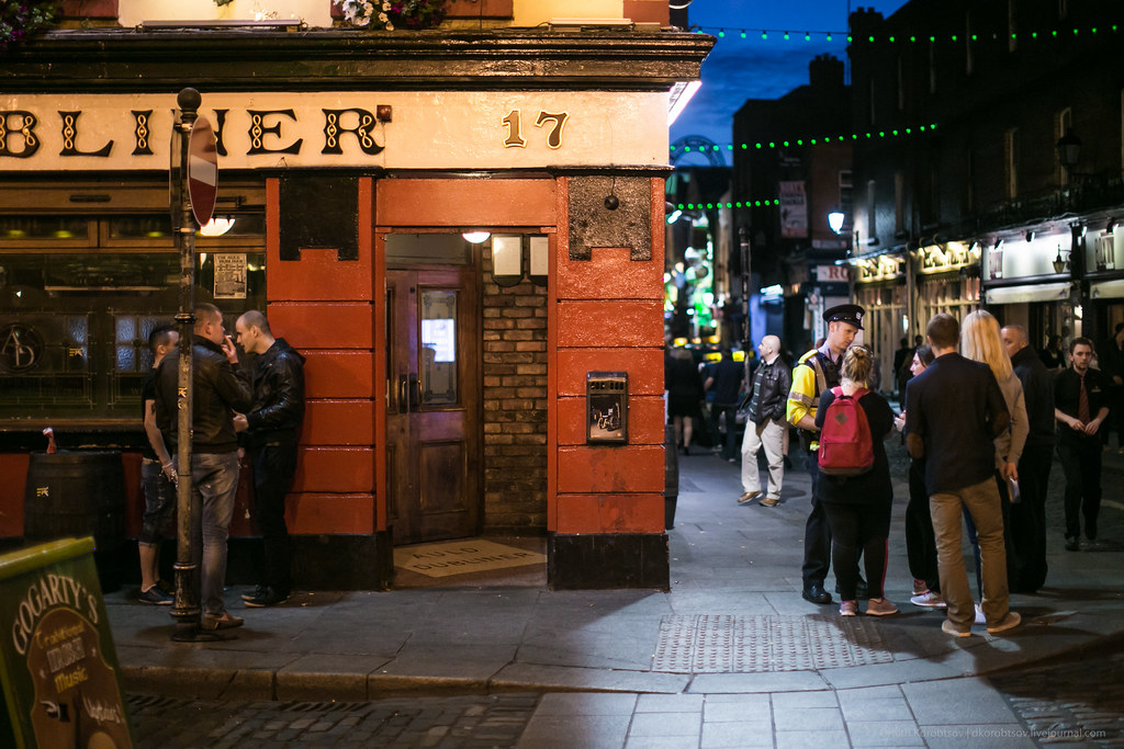 Dubliner in Temple Bar