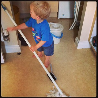 Home educated tots... A life time of domestic servitude