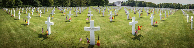 Ardennes American Cemetery.