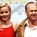 Small photo of Abbie Cornish & Michael Keaton