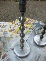 Iron Craft '13 Challenge 15 - Bedside Lamp Redo