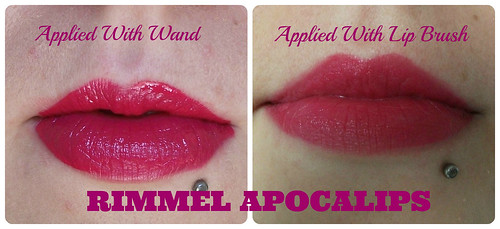 Rimmel Apocalips Before & After