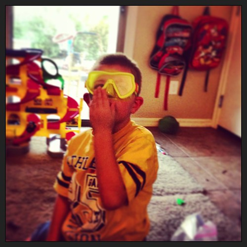 This is how we do #ot #therapy #scubasteve #ilovehim #seizures #cerebralpalsy #occupationaltherapy @kdbdallas