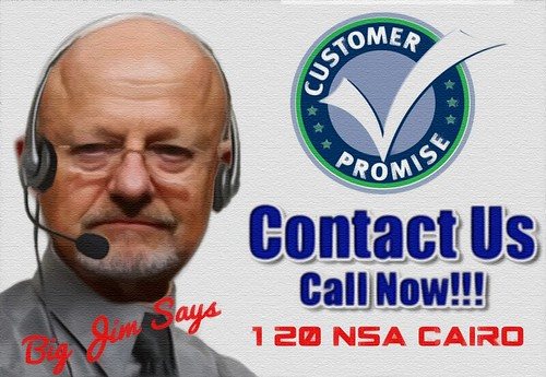 NSA CUSTOMER SERVICE REP by WilliamBanzai7/Colonel Flick