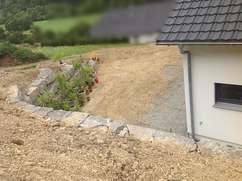 Neuanlage eines qm hanggrundst cks tipps erw nscht for Gartengestaltung 20 qm