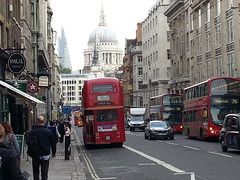 London, Fleet Street towards St Paul's