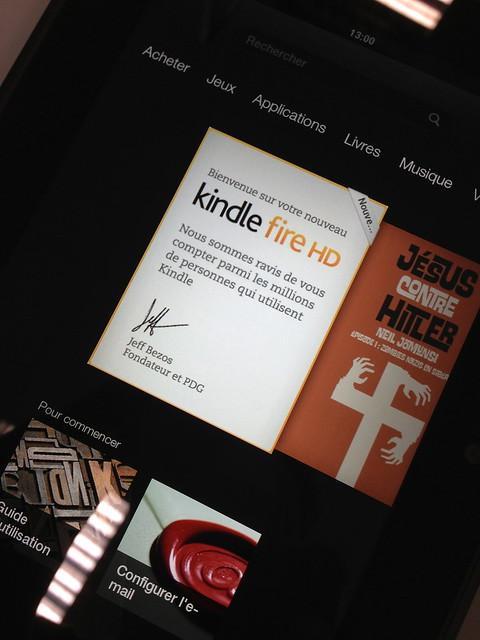 Kindle Fire test