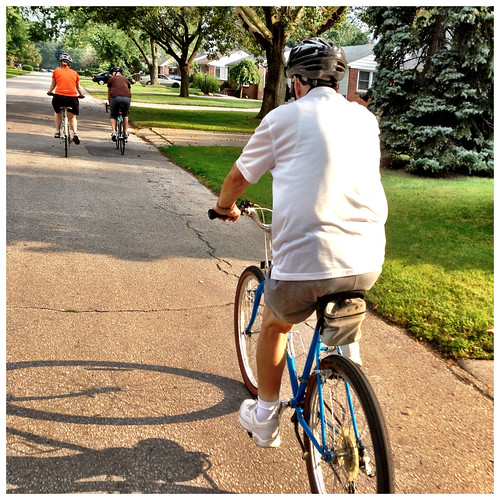Windsor family bike ride - #245/365 by PJMixer