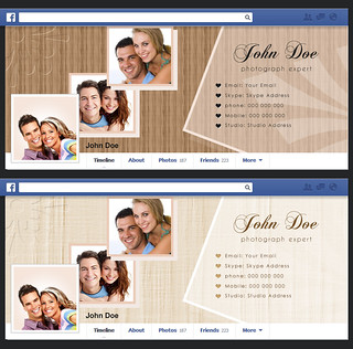 Portfolio Theme Facebook Cover