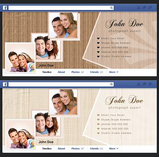 Portfolio Theme Facebook Cover