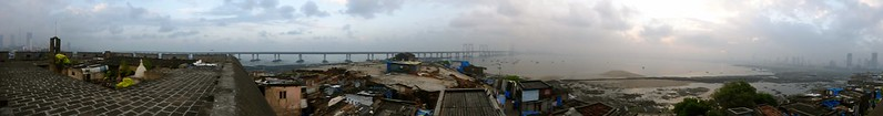 Worli Fort - panorama view from fort
