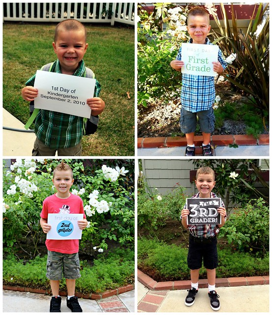 First Day of School-Kindergarten Through 3rd Grade