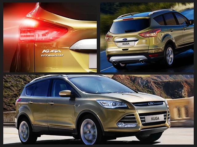 [賞車心得]-強而有力 安全至上 SUV新規格 -FORD  THE ALL NEW KUGA 賞車試乘
