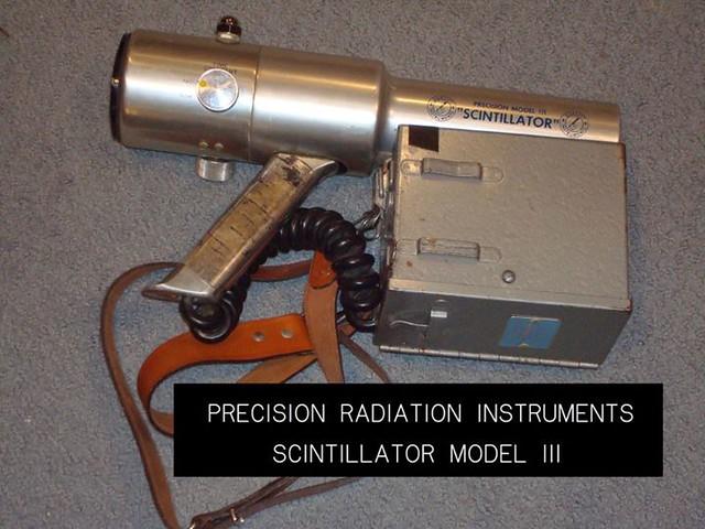 Geology Scintillator
