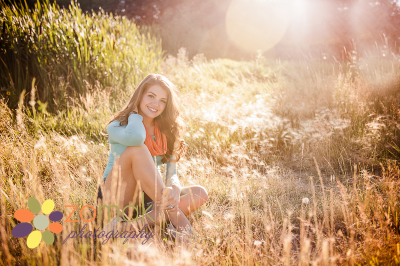 the most beautiful light falls on cassidy while she has her senior pictures taken in helena montana