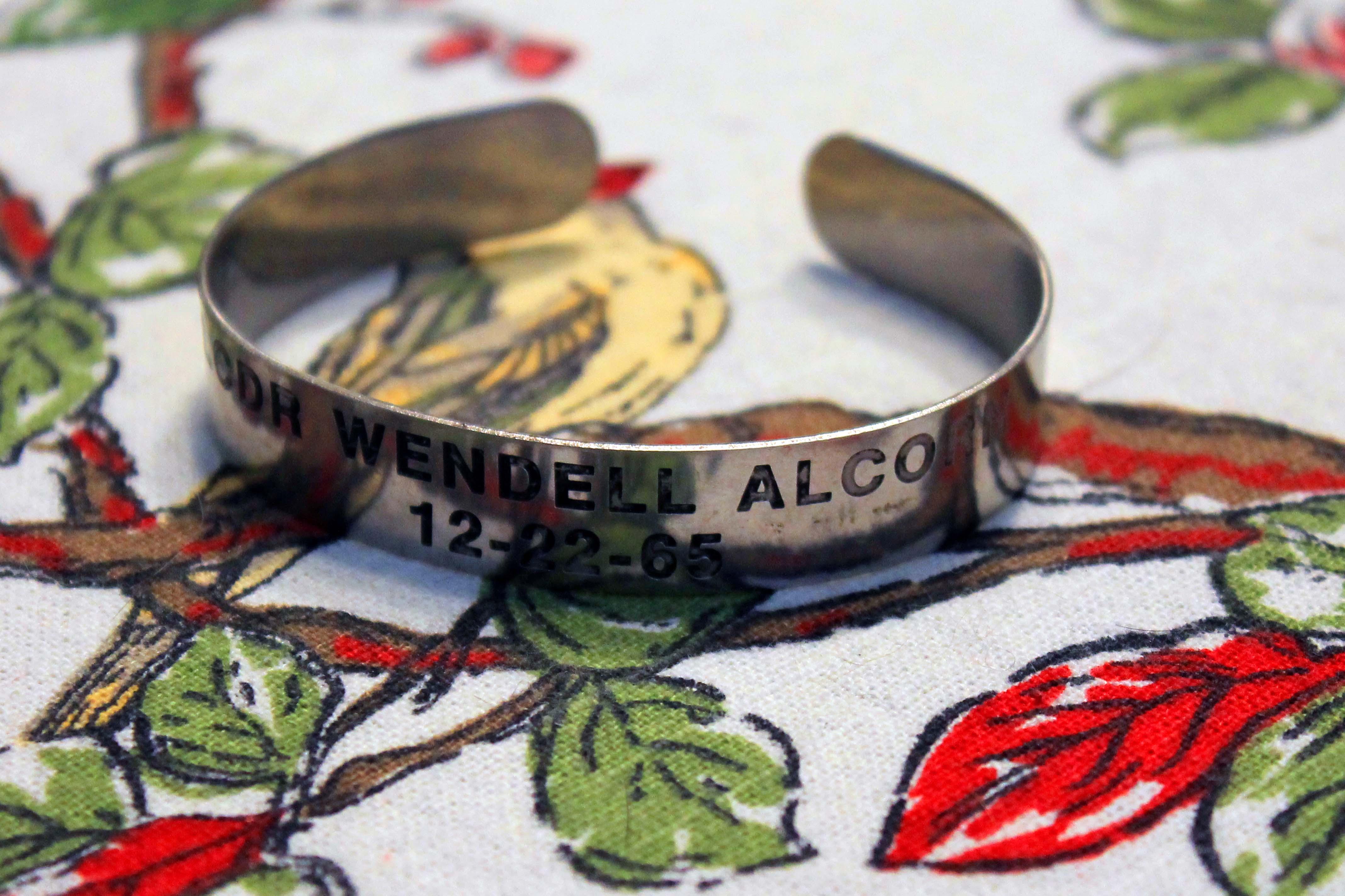 POW/MIA Bracelet Wendell R Alcorn