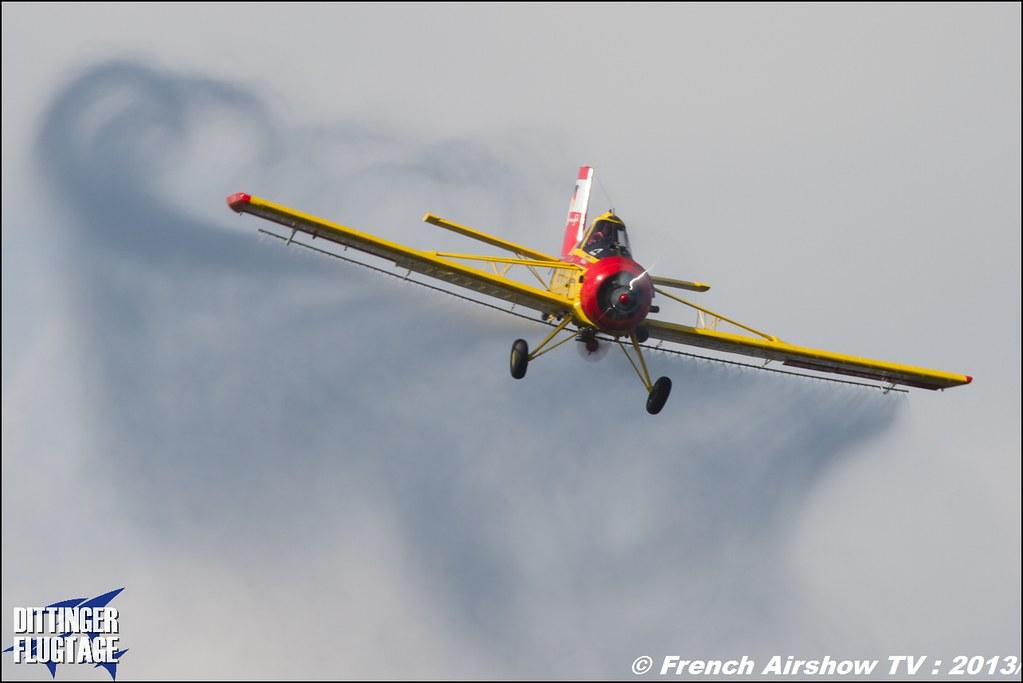 PZL 106 AR Le Tracteur volant PLANE , Dittinger Flugtage 2013