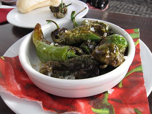pimientos de padrón (never had a spicy one!)