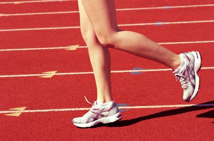 Atleta corredora