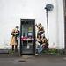 GCHQ snoopers - Cheltenham - 14.4.2014 by shell shock