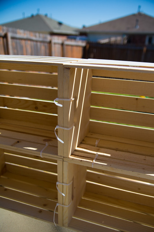 DIY Lemonade Stand Crates #Shop