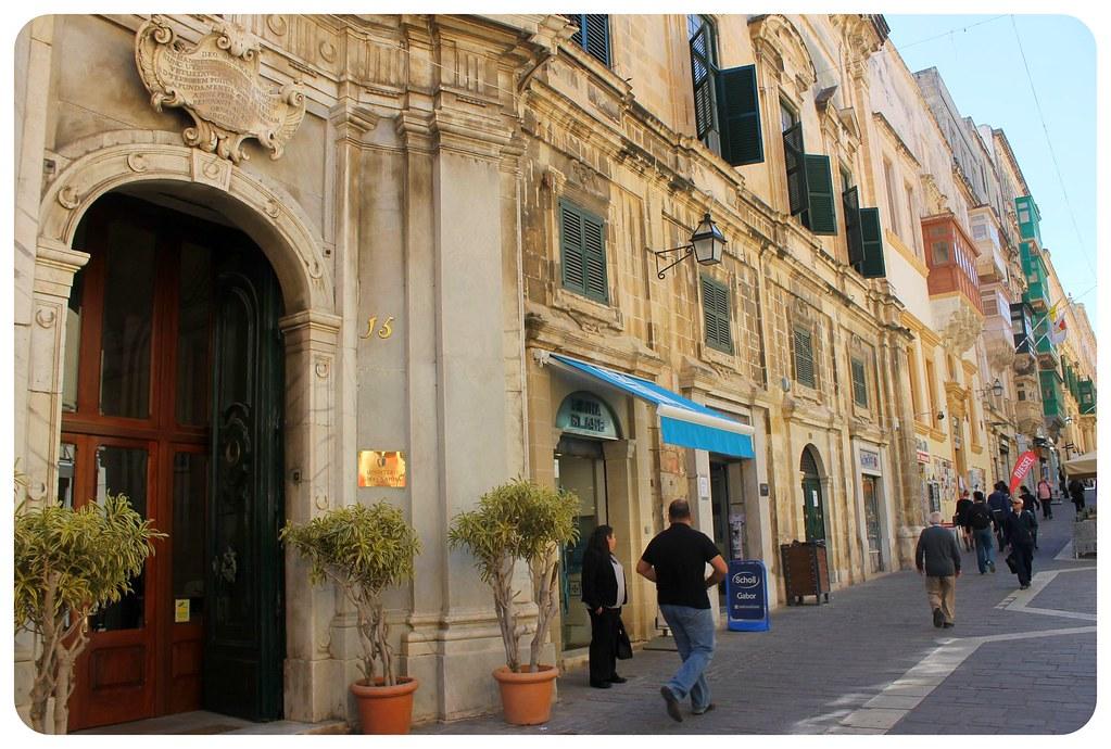 valletta merchant street