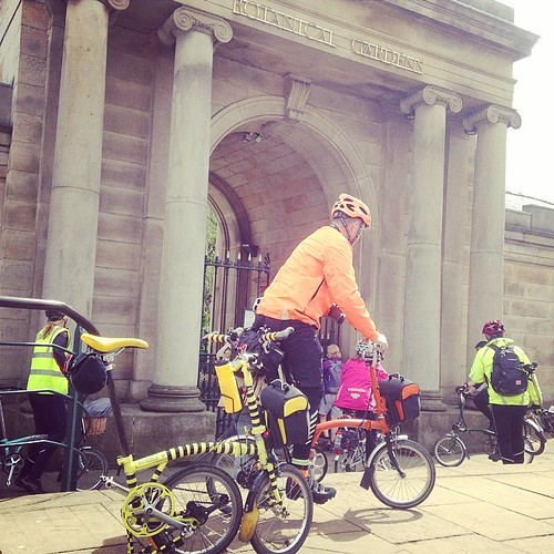 LBC Sheffield Region Annual Ride. #brompton #bromptonbicycle #urban