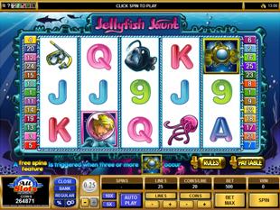 Jellyfish Jaunt Slot Machine