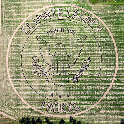 Climate Legacy #NOKXL Crop Art