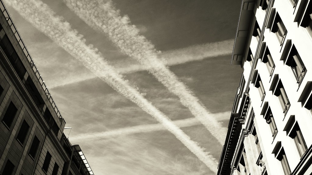 #sky, #clouds, #jetstreams, #chemtrails, #hashtags  :-)