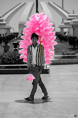The Cotton candy kid