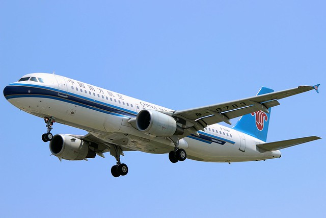 B-6783 | China Southern Airlines | Airbus A320-214 | ZSAM