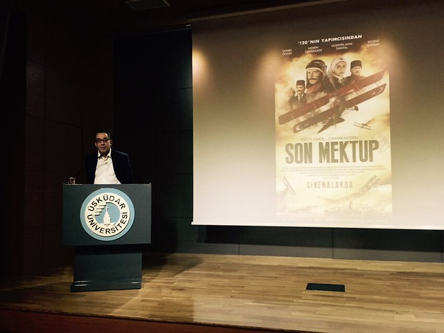 120 ve Son Mektup filmleri yönetmeni Özhan Eren kültür derslerine katıldı 2