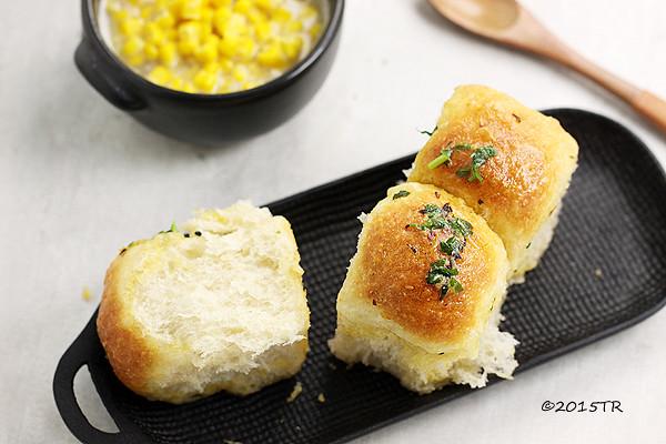 大塊分享的大蒜麵包-20150513