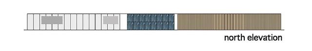 Photo:aat + Makoto Yokomizo - 富弘美術館 Tomihiro Art Museum - Drawings 05 - 北向立面圖 North Elevation By 準建築人手札網站 Forgemind ArchiMedia
