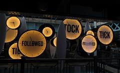 Tick Tock Art Piece in Guinness Storehouse in Dublin, Ireland