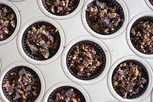 Mini Chocolate Brownie Cupcakes - 13