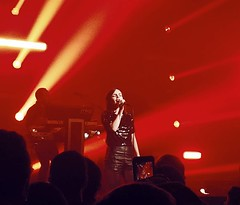 SLAYED.  .   . @chvrches #chvrches #dc #igdc #dcasfuck #dctography #redredred #dcmusic
