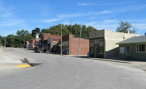 Downtown Forest City, Missouri