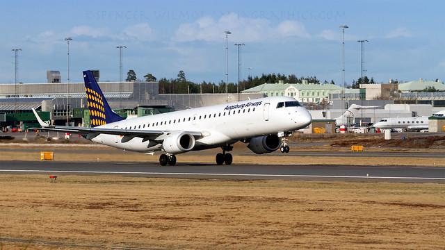 Augsburg Airways E-195.