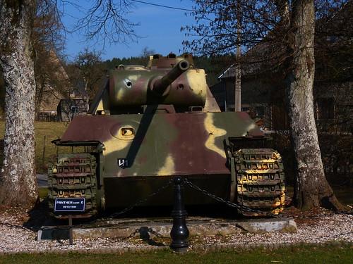Char Panther à Grandménil