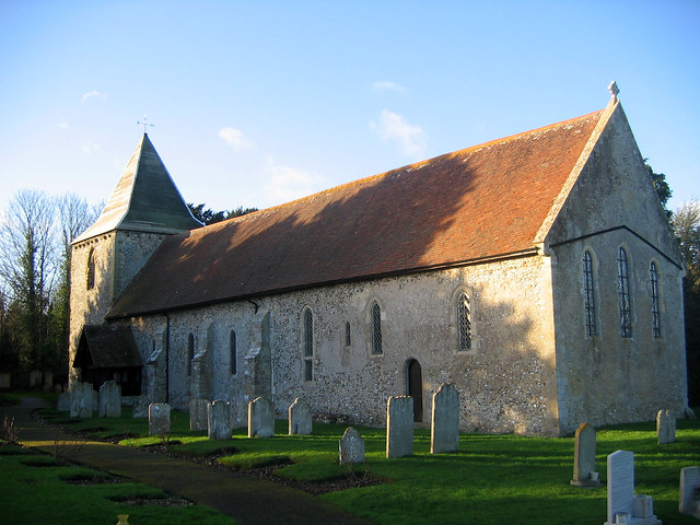 West Thorney church