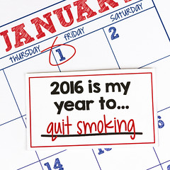 New Year's smoking cessation 2016