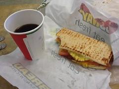 Breakfast at the Clatskanie Subway