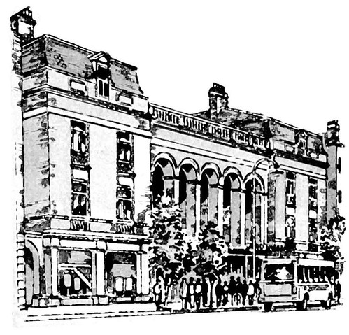 Grand Theatre Drawing