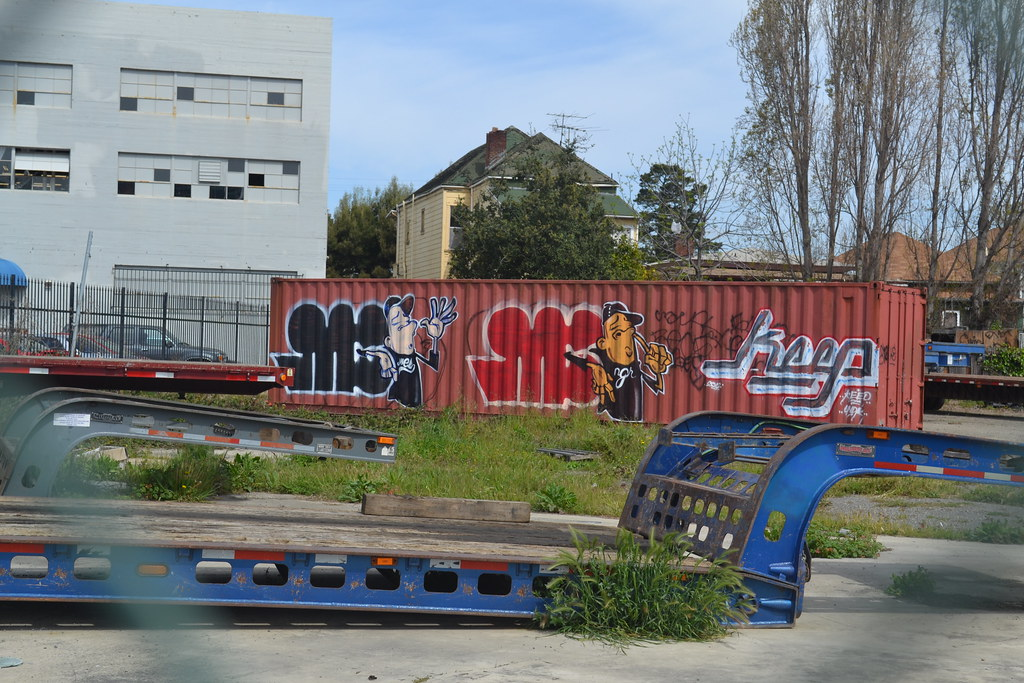 MINE, MES, KEEP, Oakland, Street Art, Graffiti,