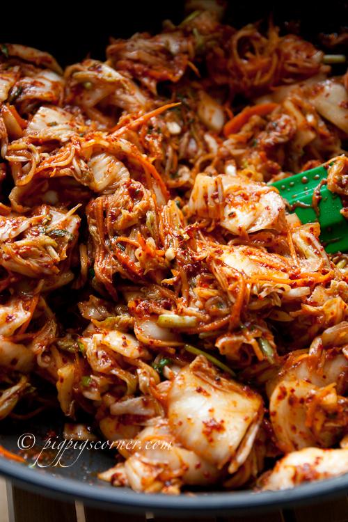 Home-made Baechu Kimchi