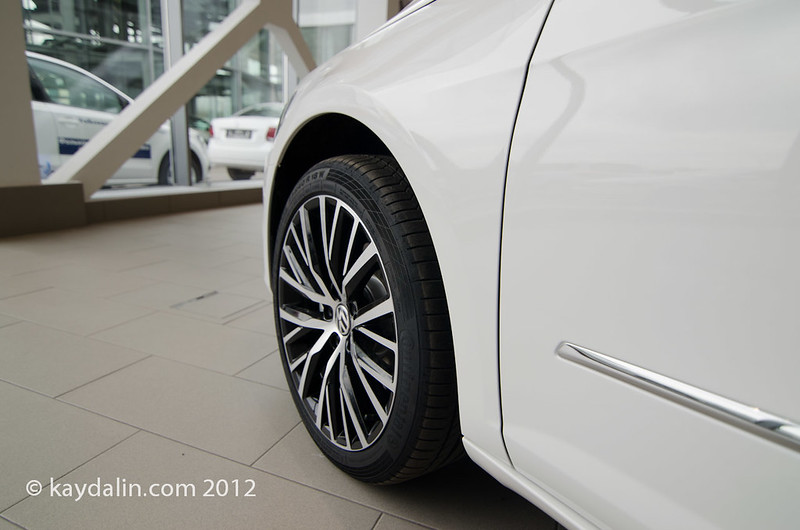 passat cc 2012 wheels