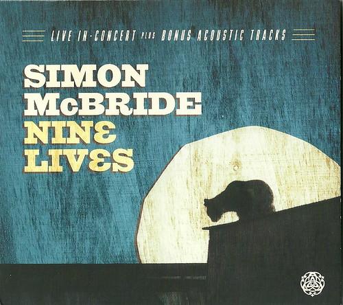 Simon McBride Nine Lives CD Cover
